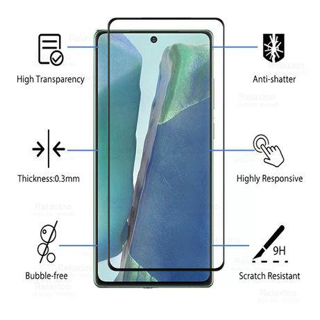 3D Стъклен протектор за целия дисплей за Samsung Galaxy Note 20