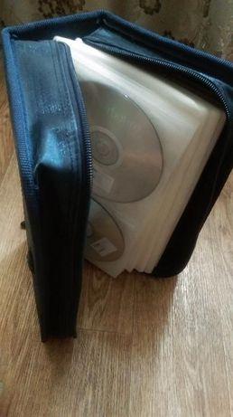 Чехол для дисков с дисками в подарок