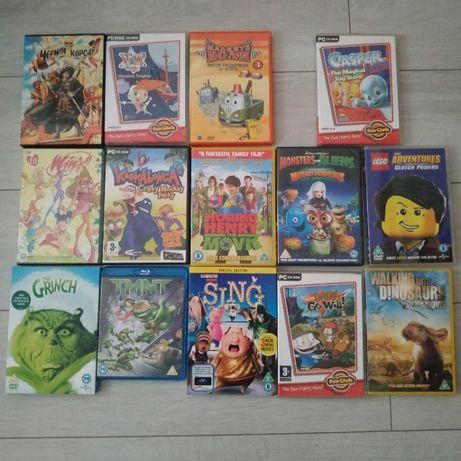 Лот от детски филми DVD повечето английски
