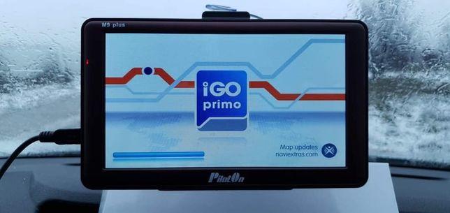 Gps 7inch PilotOn  cu program Igo Primo  și harti 2021