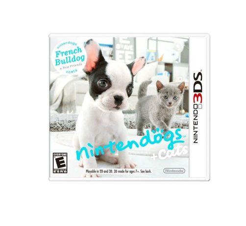 Joc Nintendogs + Cats Pentru Consola Nintendo 2DS / 3DS