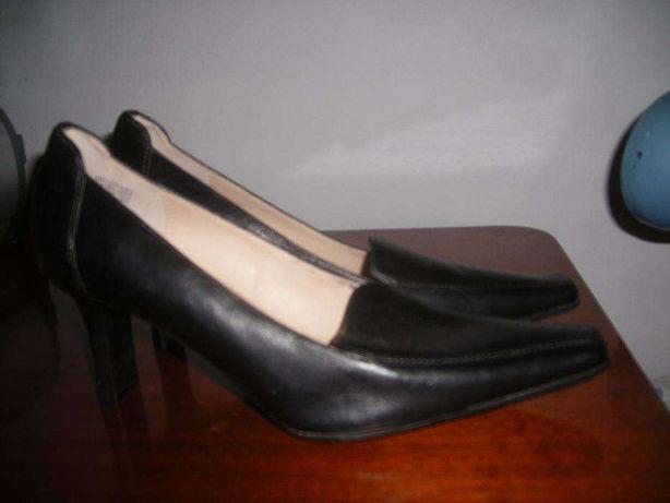 Pantofi dama piele noi ANNE KLEIN 39 negri