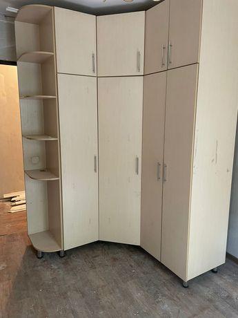 Шкаф прихожка угловой