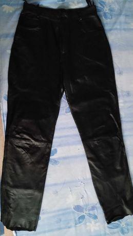 Кожен мото панталон