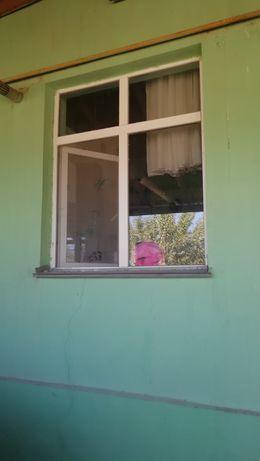 Пластиковый Окна дерево  дверь