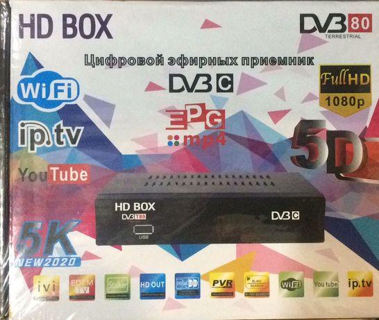 Цифровая Приставка Т2 + DVBC