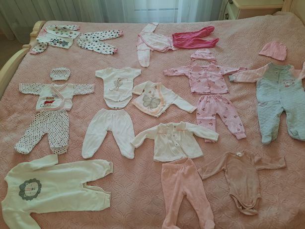 Продам б/у детские вещи на 0-3, 3-6 месяцев