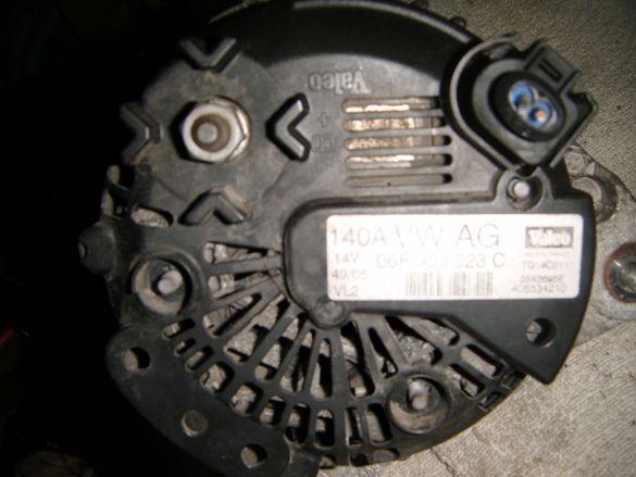 Генератор за Голф 5 плюс 1.6 16в 102к.с.2006год 140 ампера