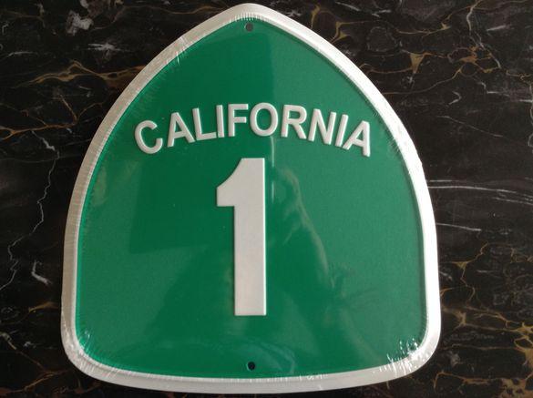 Табела Щатски Главен път Калифорния #1. Внос от САЩ
