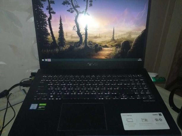 Срочно игровой ноутбук Asus X571G (i5-9300H, GTX-1050 на 4 Gb)