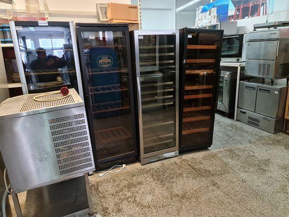 Хладилни витрини 15бр за вина 1400лв