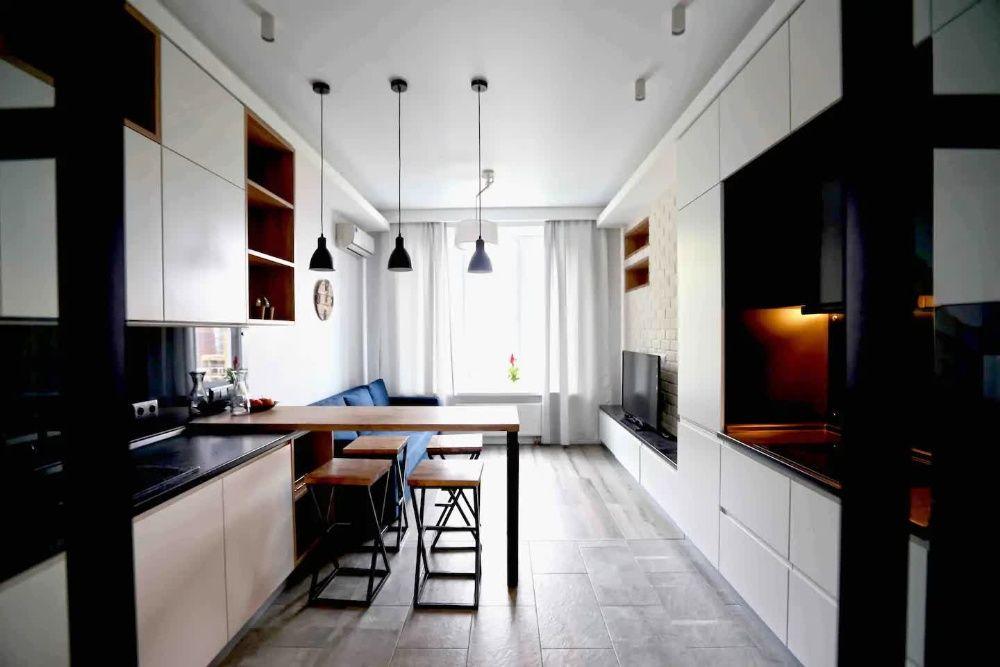 Шикарная двухкомнатная квартира в ЖК Шахристан рядом с Мегой