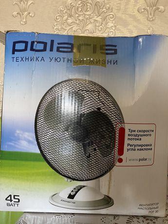 Продам настольный вентилятор Polaris