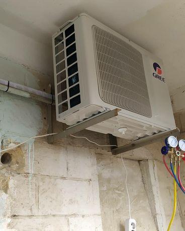 Заправка, ремонт, установка кондиционеров