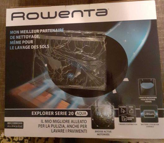 800 lei - Aspirator robot ROWENTA X-PLORER Aqua Serie 20 RR6875WH, 33W