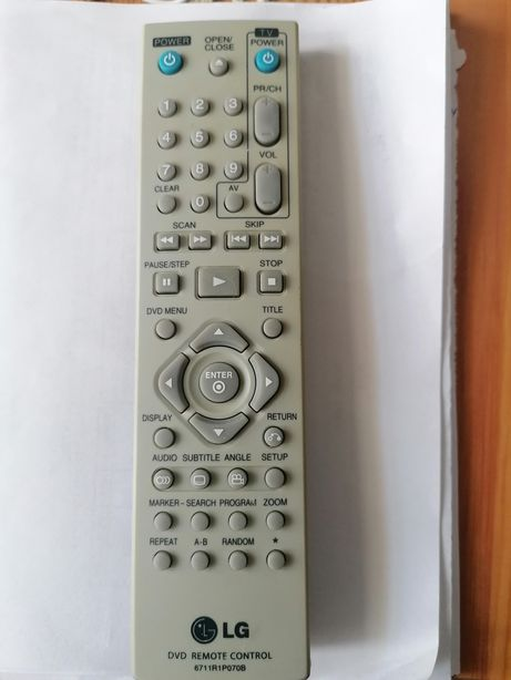 Telecomanda DVD LG