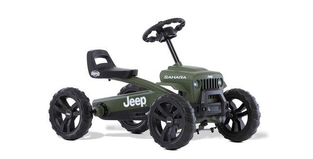 Kart cart cu pedale Berg Jeep Buzzy Sahara pentru copii 2-5 ani