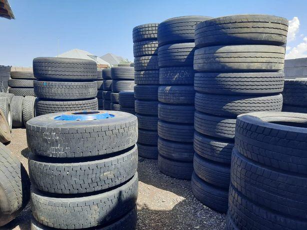 Продам привозные из Европы грузовые шины и диски