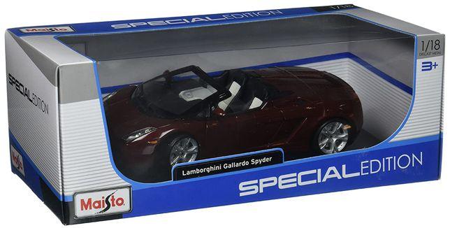 Macheta Maisto 1:18, Lamborghini Gallardo Spyder