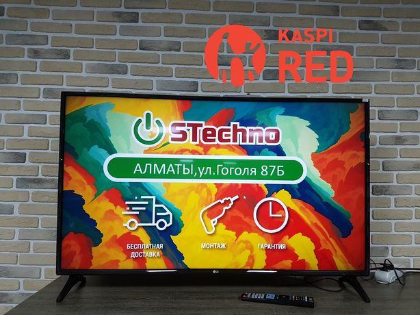 ТВ Smart 4K 124см LG 49UJ631V Рассрочка KASPI RED!Гарантия год!