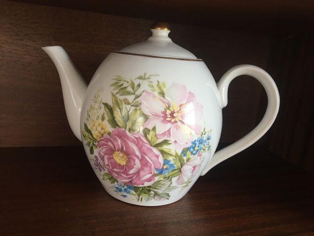 фарфоровый чайник 3л