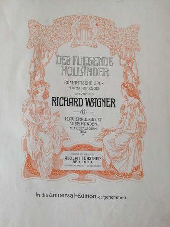 R.Wagner- Olandezul Zburator- cu acompaniament de pian la 4 miini