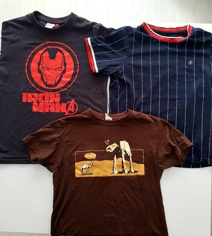 Set 3 tricouri 10 11 ani Marvel , Reserved , Miyagi