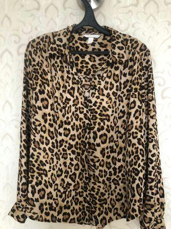 Блузка леопард тренд сезона