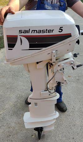 Motor barca ,Johnson sail master 5 c