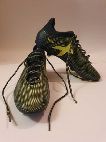 Adidas Techfit X 17.3 ghete fotbal/ adidasi cu crampoane/ papuci nr.44