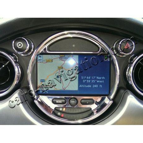 Диск за навигация Мини Купър Р50 Р52 Р53 Р55 Р56 Р57 Р58 Р59 Р60 Р61