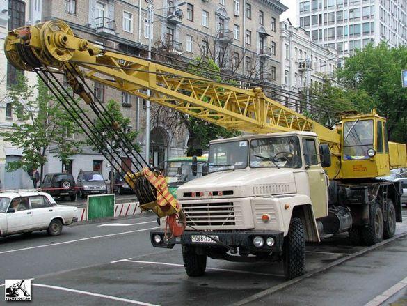 Наем Автокран-КРАЗ 20-тона
