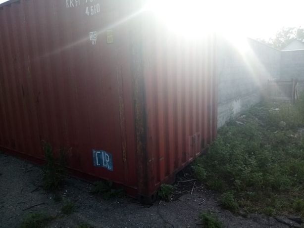 Срочно продается морской 40 футов контейнер