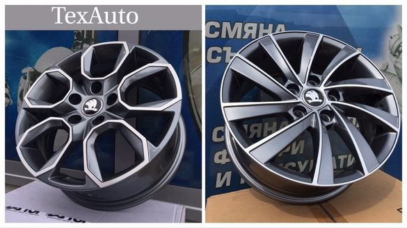 "Джанти за SKODA 16""17""18""19"" Оctavia / Superb / Laurin & klement"