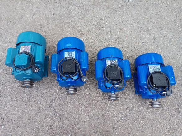 Eлектродвигател електромотор двигател мотор монофазен 1.1, 2.2, 3,4