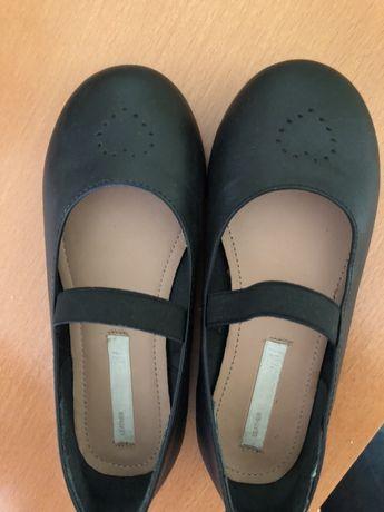Детски обувки естествена кожа H&M