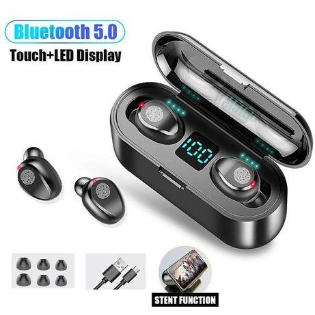 Безжични Слушалки F9 Earbuds tws handsfree bluetooth android iphonе