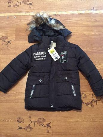 Продам куртку на мальчика 3-4 года ЗИМА