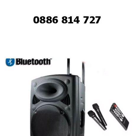 Активна караоке тонколона JBL 12-ка 2000W с Bluetooth и 2 микрофона
