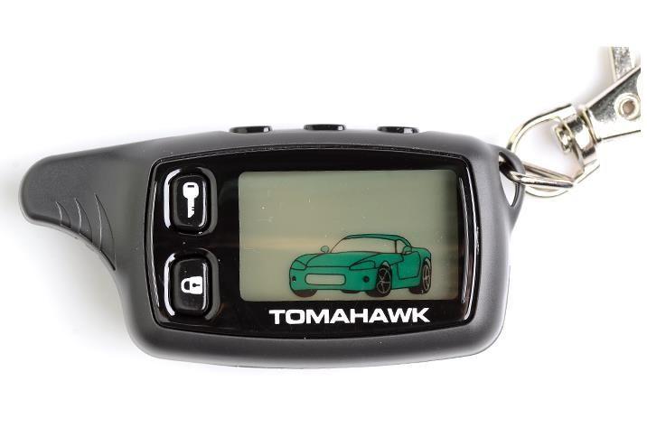 Telecomanda Tip Pager Alarma Auto Tomahawk TW9010