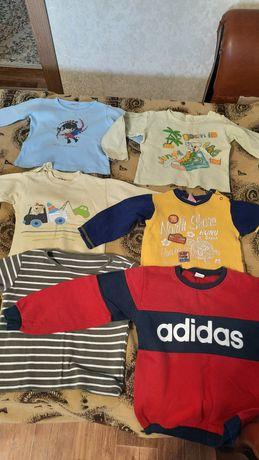 Детские вещи на мальчика от рожденья до 8 лет в хорошем состоянии