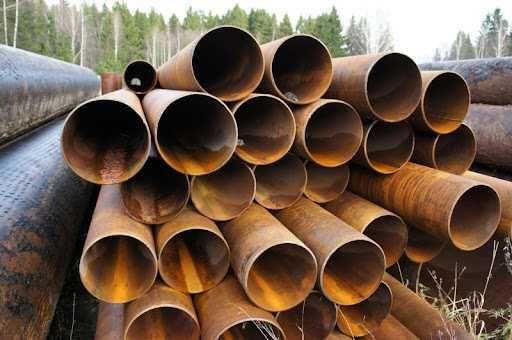 Трубы бу, пескоструйная, торцованная труба бу. D426, 530, 630, 720 мм