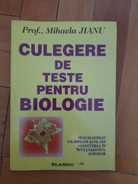 Culegere de teste pentru biologie