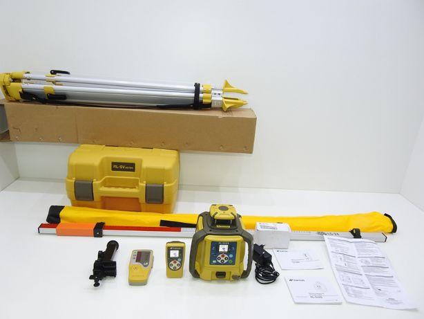 nivela laser dubla panta topcon rl-sv2s calibrata 2020 hilti leica