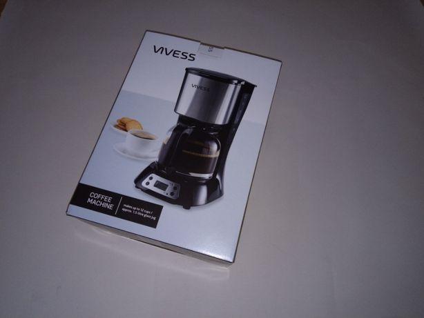 Cafetiera Vivess NOUA SIGILATA Afisaj LCD 1.5 Litri 900W - Poze Reale