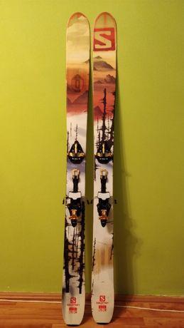 Skiuri Salomon Q-115 cu legaturi Marker Kingpin10