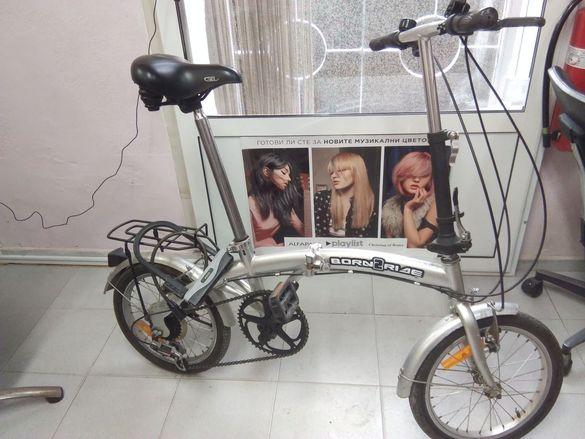 Велосипед 18 ц. Сгъваем