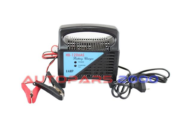 Зарядно за акумулатор 6 amp/12V