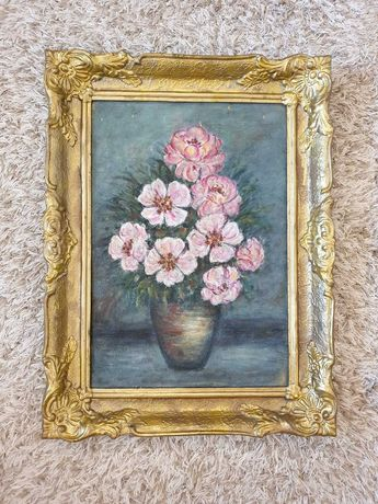 Tablou Flori in vaza 1