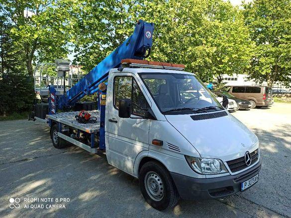 Автовишка под наем , услуги с автовишка за гр. Русе и региона